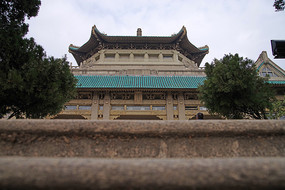 武汉大学仿古建筑