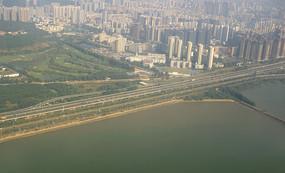 廣深沿江高速及沿途城市航拍