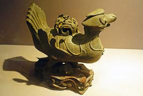 民國時期鴨形銅爐