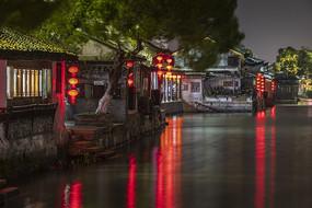 西塘古鎮夜色美景高清