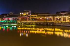 西塘江南水鄉夜色