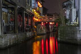 西塘燒香港北街夜色
