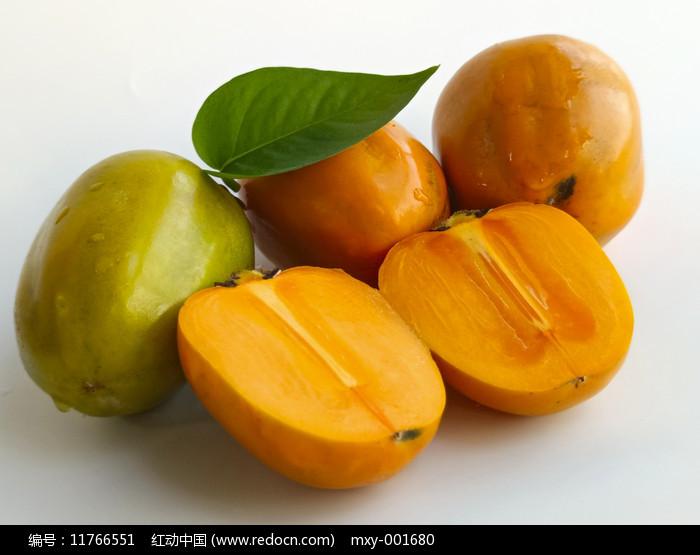 甜脆柿子图片