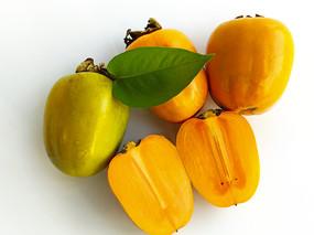 甜脆柿子拍摄