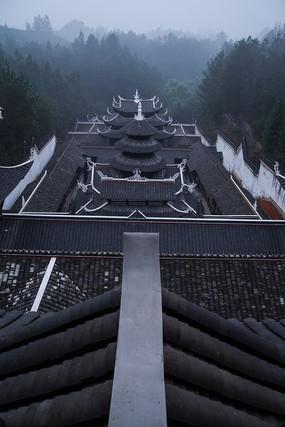 土家族风格建筑