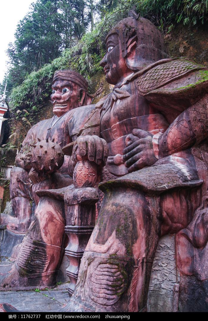 土司城民族特色浮雕图片