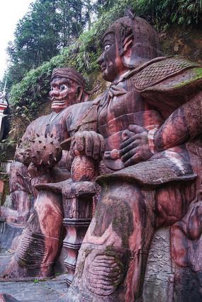土司城民族特色浮雕