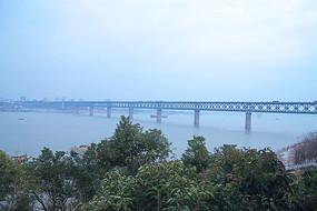 武汉长江大桥景观