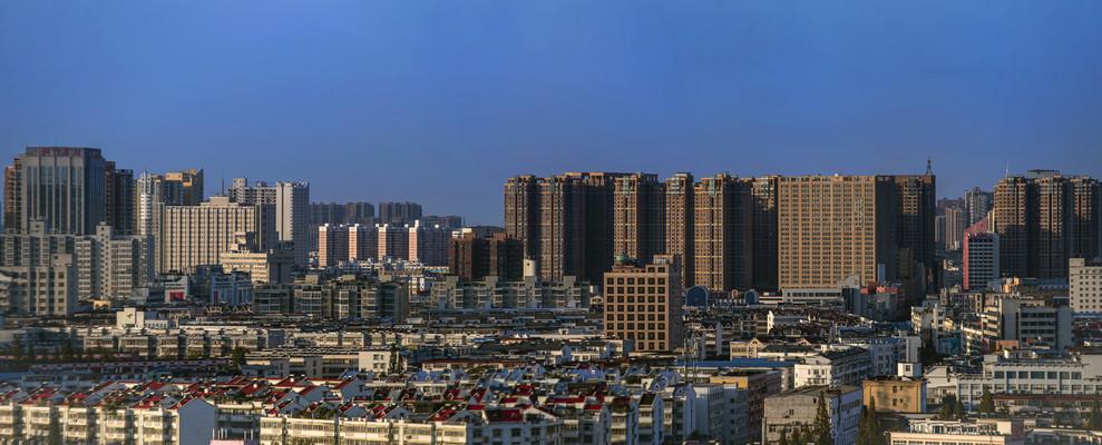 宽幅高清城市建筑景观