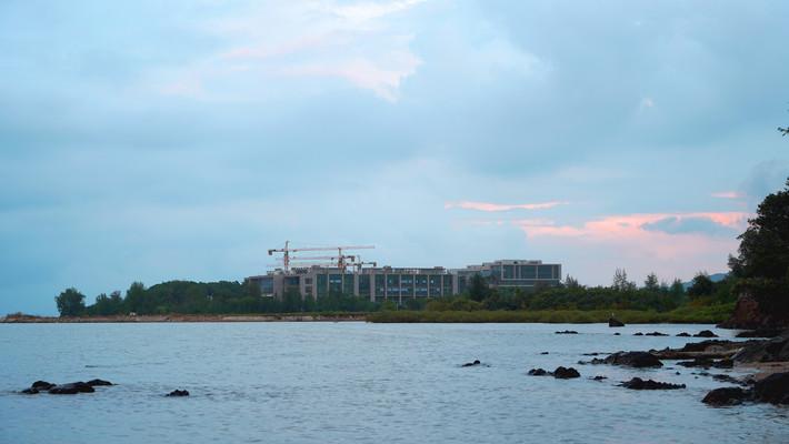 海边建筑深圳坝光