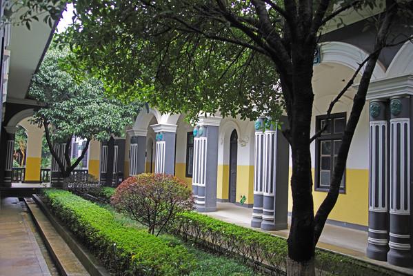 湖南第一师范学院原理景观