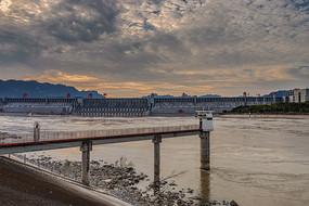 三峡大坝水文站高清图