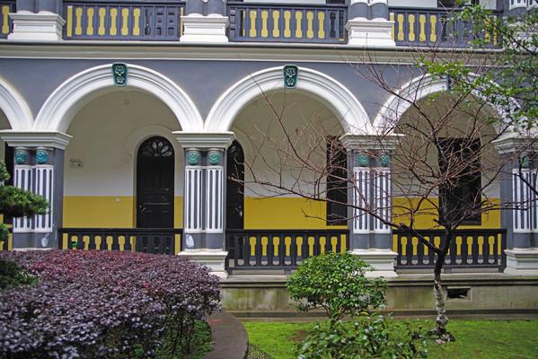 校园西式建筑