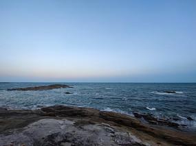 海边的日落风景