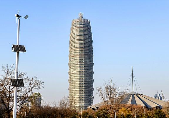 郑州建筑大玉米楼