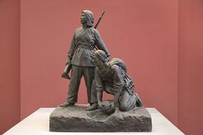 雕塑地雷战