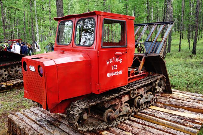 1980年代集材30型拖拉机